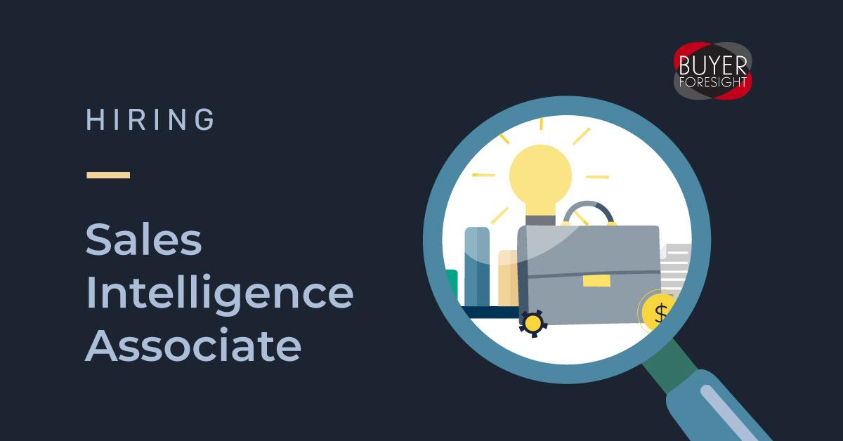 Hiring Sales intelligence associate